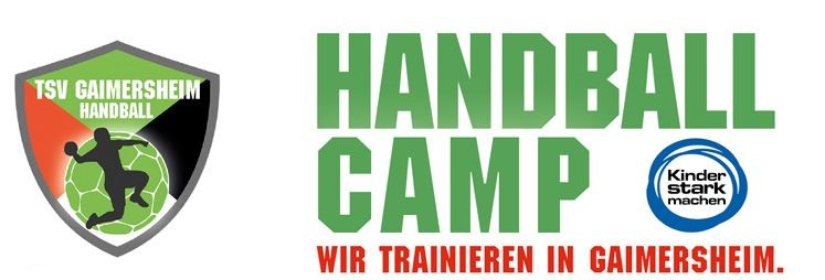 Handball-Camp 2019 - Ferienspaß rund um den Ball